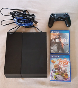 NEW PS4 WITH 2 NEW GAMES
