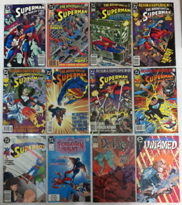 Superman / Justice League / DC Comics lot 1990-1993