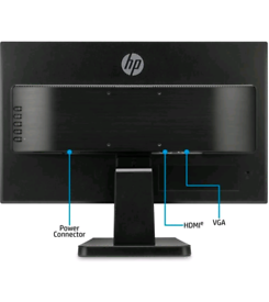 Brand New|Still packed| HP 22w Full HD Monitor 21.5 Inch - Black