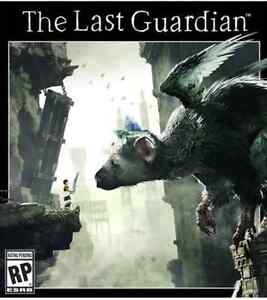 SELLING LAST GUARDIAN AND RISE OF THE TOMB RAIDER PS4