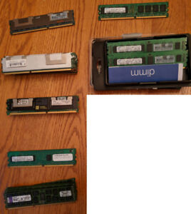 PC2 and PC3 Desktop/Server Memory (DDR2 - DDR3) – Reduced Prices