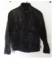 Motorcycle Leather jacket VINTAGE vested de cuir de moto