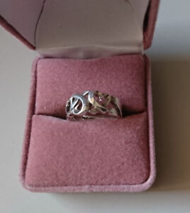 Tiffany & Co. Paloma Picasso Sterling Silver Three Loving Heart