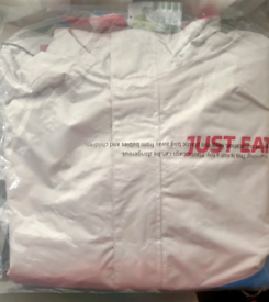 Brand New Just Eat Jacket