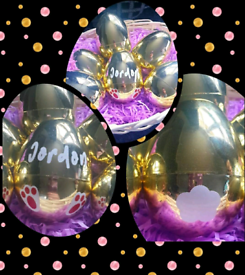 Personalised Gloden Eggs