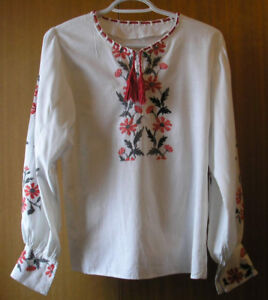 Ladies Small - X Small Ukrainian Embroidered Blouse