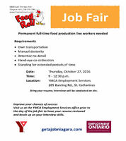 Food Roll Job Fair