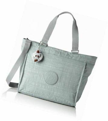 Kipling Shopper Large Tote Bag in DAZZ GREY. Amanda Monkey.