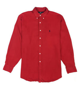RALPH LAUREN SILK SHIRT - L
