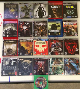 19 Like New/Brand New PS3 Games for Sale
