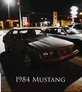 1984 Mustang lx