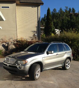 2005 BMW X5 Grey SUV, Crossover