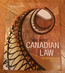 Canadian Law; An Introduction