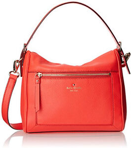 KATE SPADE red Cobble Hill Harris leather Pristine condition