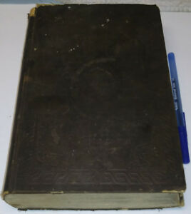 1849 History of England Old Antique Book