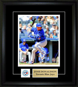 Framed picture of Toronto Blue Jays Josh Donaldson