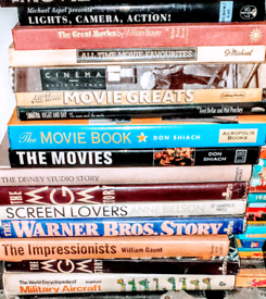 RARE VINTAGE MOVIE BOOK COLLECTION.