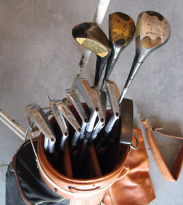 Left Hand Golf Clubs + Bag & Pully