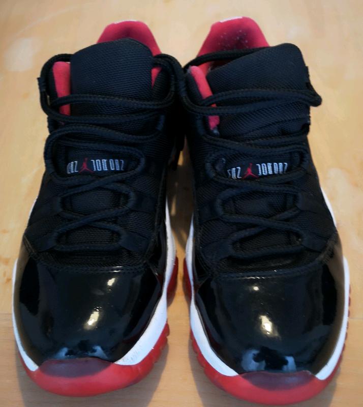 9c86e530382 Nike Air Jordan Retro 11 Low Bred Genuine £125 or best offer size 7 ...