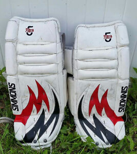 Boys Goalie Pads and Gloves