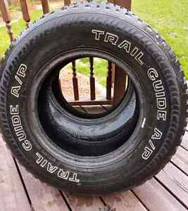 265/70/17 Trail Guide A/P Tires