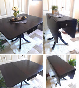 Stunning Antique! Refinished DUNCAN PHYFE Dining Table