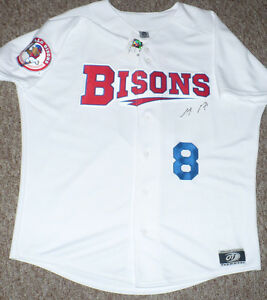 Buffalo Bisons Anthony Gose Signed Jersey Size XL New with Tags