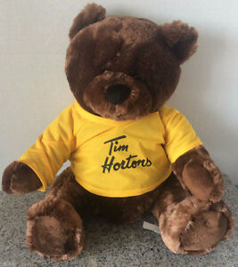 New Tim Hortons Sidney Crosby Large Plush Bears $25 sealed bag.