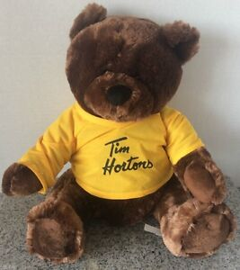 Tim Horton's Limited Edition Sidney CROSBY Teddy Bear MINT tims