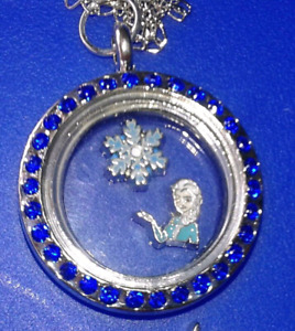 Locket with Frozen Charms