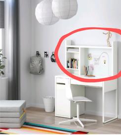 Shelf Unit for top of IKEA Micke Desk