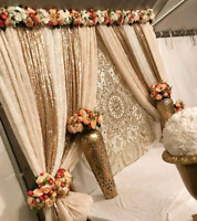 Wedding decor backdrops+++