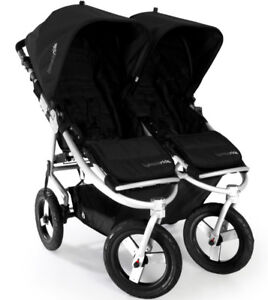 2014 Bumbleride Indie Twin Stroller blk/silver - great condition