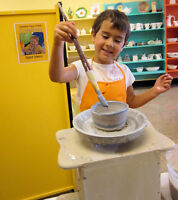 Kids clay or fused glass parties at Clay for Kids
