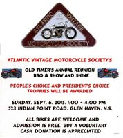 A.V.M.S.  ANNUAL OLD TIMERS REUNION