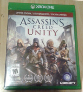 Assassin's Creed Unity Xbox One, Limited Editiion (complete)