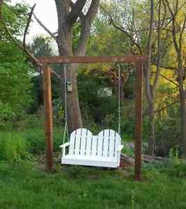 Beautiful  custome hand crafted porch swing Stratford Kitchener Area image 1