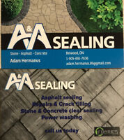Asphalt, Concrete and Stone Sealing