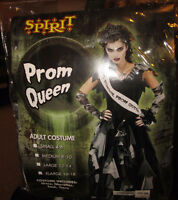 Adult HALLOWEEN COSTUME Prom Queen