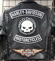 MOTORCYCLE JACKET REPAIR, WE SEW PATCHES