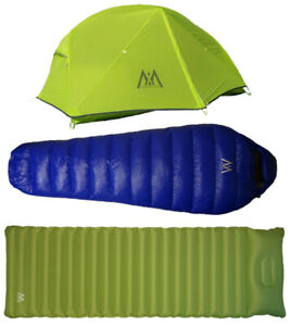 WEX LIGHTWEIGHT TENTS, DOWN SLEEPING BAGS, PADS, HIKING POLES