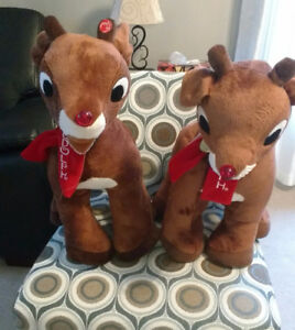 MUSICAL RUDOFF RED NOSE REINDEERS