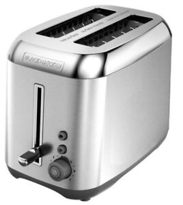 Black & Decker Toaster - Stainless Steel