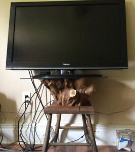 TV STAND...VERY UNIQUE AND RUSTIC