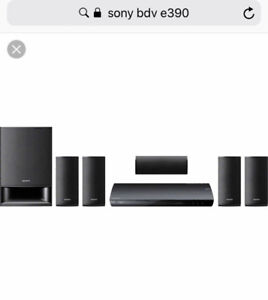 Sony - bde390 Blu-ray - home theater system