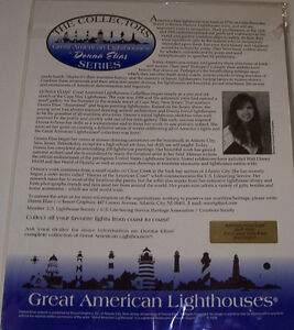 Set of  2 Collectors Series Great American Light House Prints London Ontario image 2