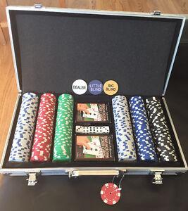 Professional Hold'em Poker Set and Case