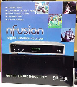 Nfusion Nova Digital Satellite Receiver FTA