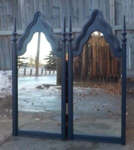 SET  of  Two Nice  Antique Mirrors.  PRICE DROP