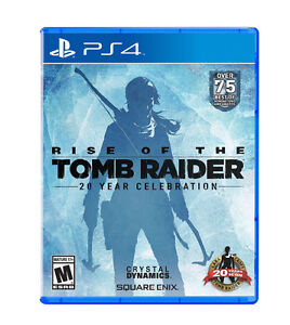 Rise of the Tomb Raider - PlayStation 4 - New Sealed - Delivered